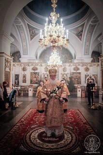 Литургия в Покровском соборе 118