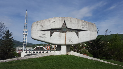 vogošća spomenik monument bosnia krstic nob
