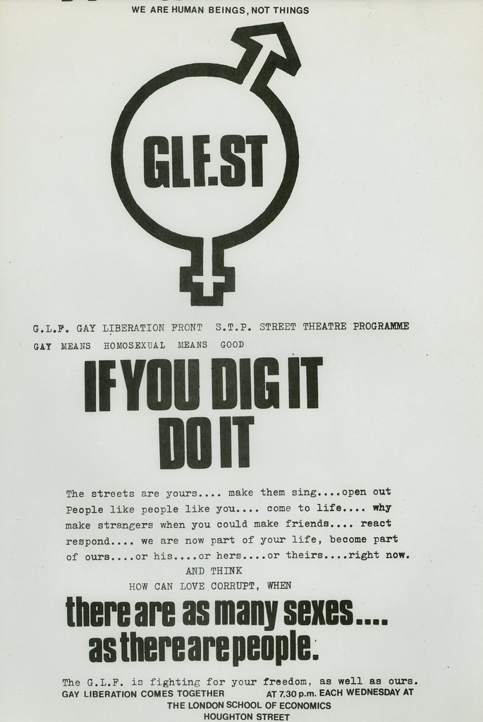 Gay Liberation Front | HCA Chesterman 25 | LSE Library | Flickr