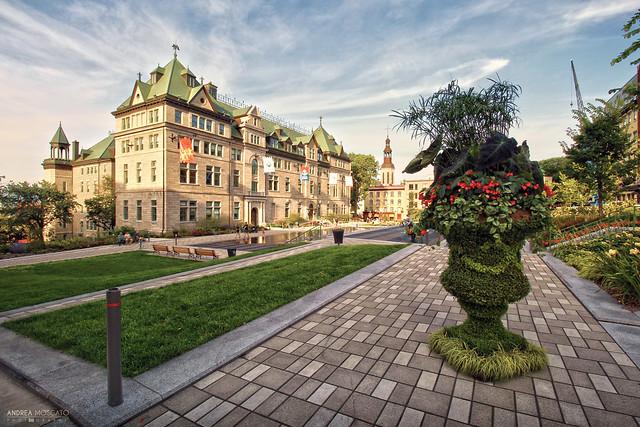 City Hall of Quebec City (Québec, Canada)