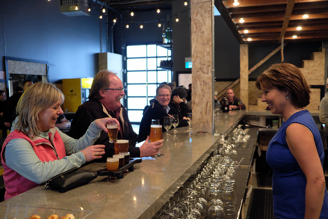 Premier tours Yellow Dog Brewery in Port Moody