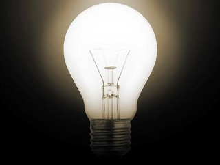 "Light Bulb No. 1 | by ""Caveman Chuck"" Coker"