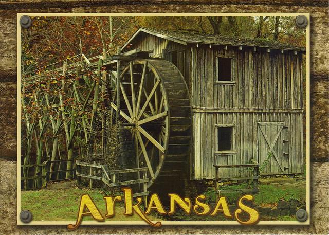 Arkansas Old Mill Postcard