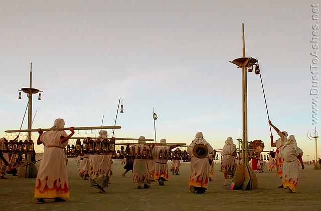 Burning Man 2005 Lamp-Lighters burningman 05