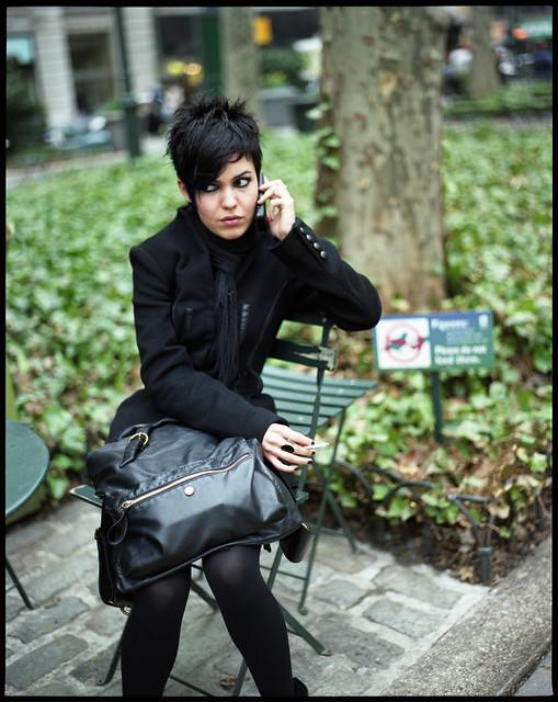 glamour noire au parc