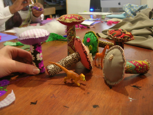 4/13 Craft Night at the Etsy Labs: Mushrooms! | by Etsy Labs