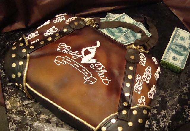 baby phat purse cake  new