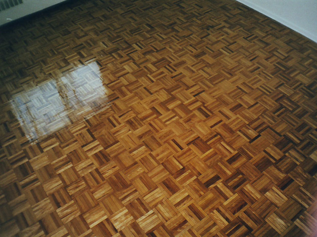 Refinished Parquet Flooring Midland Multi Service Flickr
