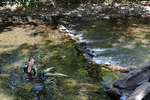 california park woman usa wet water creek waterfall dress wade chico trina wading bidwellpark bidwell image:rating=4 image:id=078988