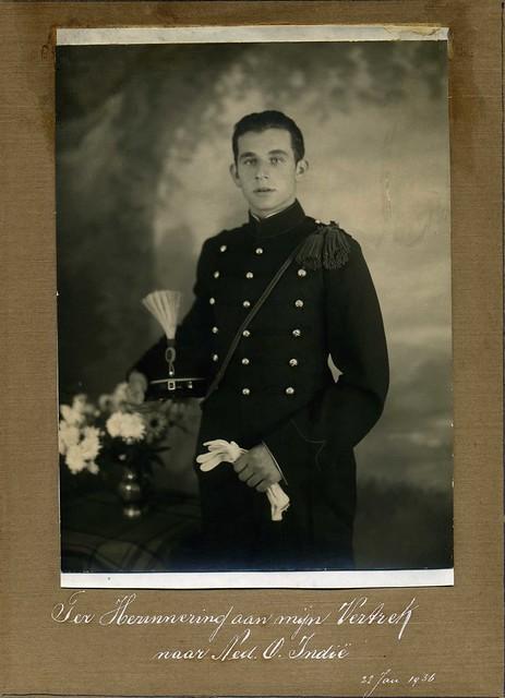 LEENDERT VAN DER GROEF (7 jan. 1916 , Middelharnis ( Holland )  - 26 sept. 1943 , Birma)