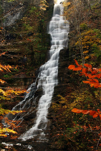 autumn newyork waterfall prattsfalls october2008