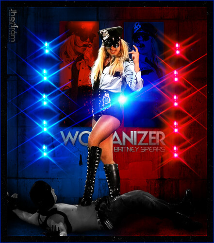 99040716518 Britney Spears - Womanizer (The Circus Starring Britney Spears Tour)