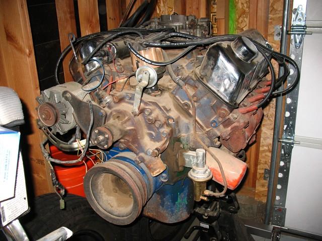 1972 Ford Gran Torino 351 Cleveland Cobra Jet Engine (3) | Flickr