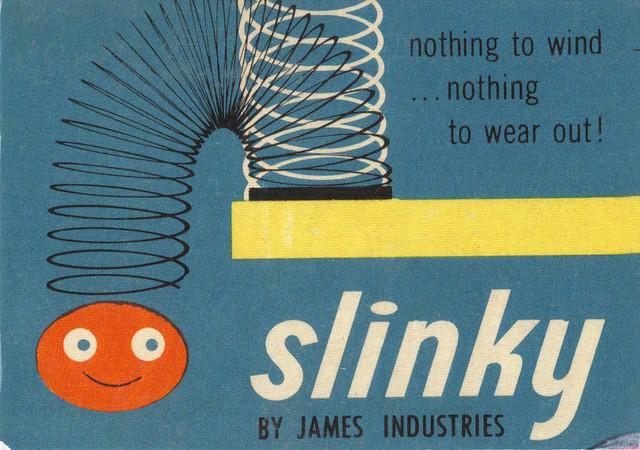 Do You Remember? Slinky Ad Postcard