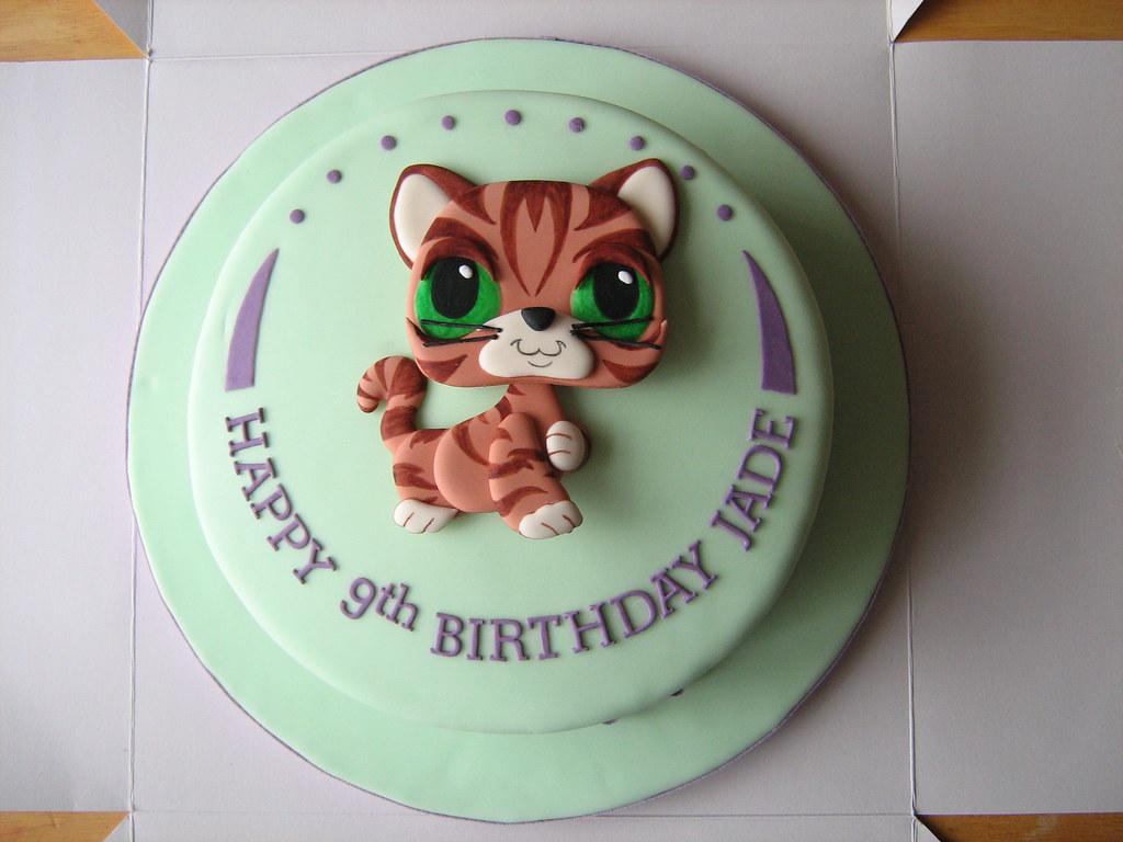 Phenomenal Littlest Pet Shop Birthday Cake A Littlest Pet Shop Fans Flickr Funny Birthday Cards Online Alyptdamsfinfo