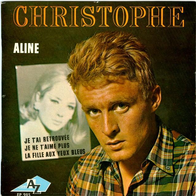 1 - Christophe - Aline - Je Ne T'aime Plus - EP - F - 1965