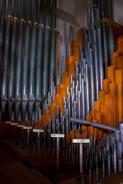 Aeolian Pipe Organ - At the Jackling Mansion