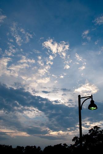 blue sunset sky sun david tree clouds center tennis batonrouge lamar ymca lyle