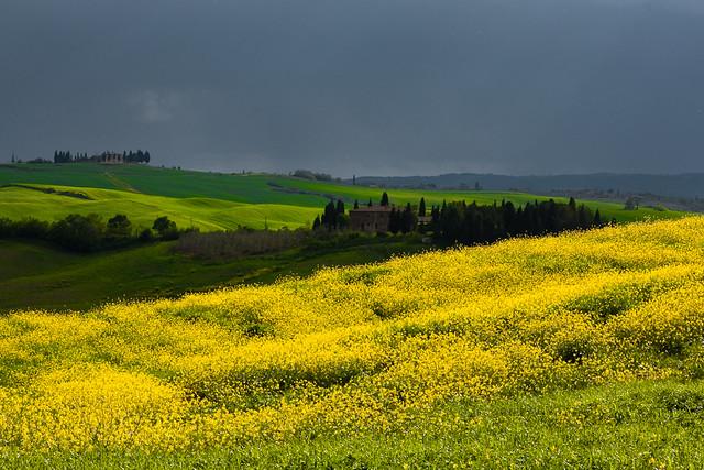 Ciel d'orage - Toscane