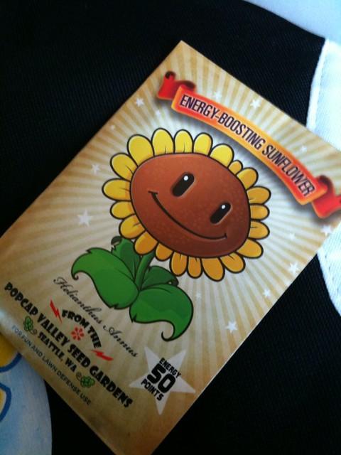 Plants vs Zombies sunflower seeds | Mochi Media | Flickr