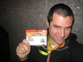 Got the badge! #sxsw | by gserafini