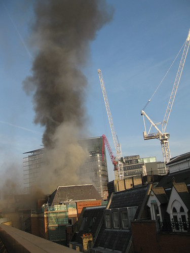 Fire at Chancery Lane, London | by Hubbers
