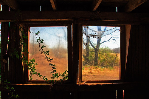abandoned window barn newjersey view farm vine cobwebs hunterdoncounty nikon18200vr nikond90 seargentsville