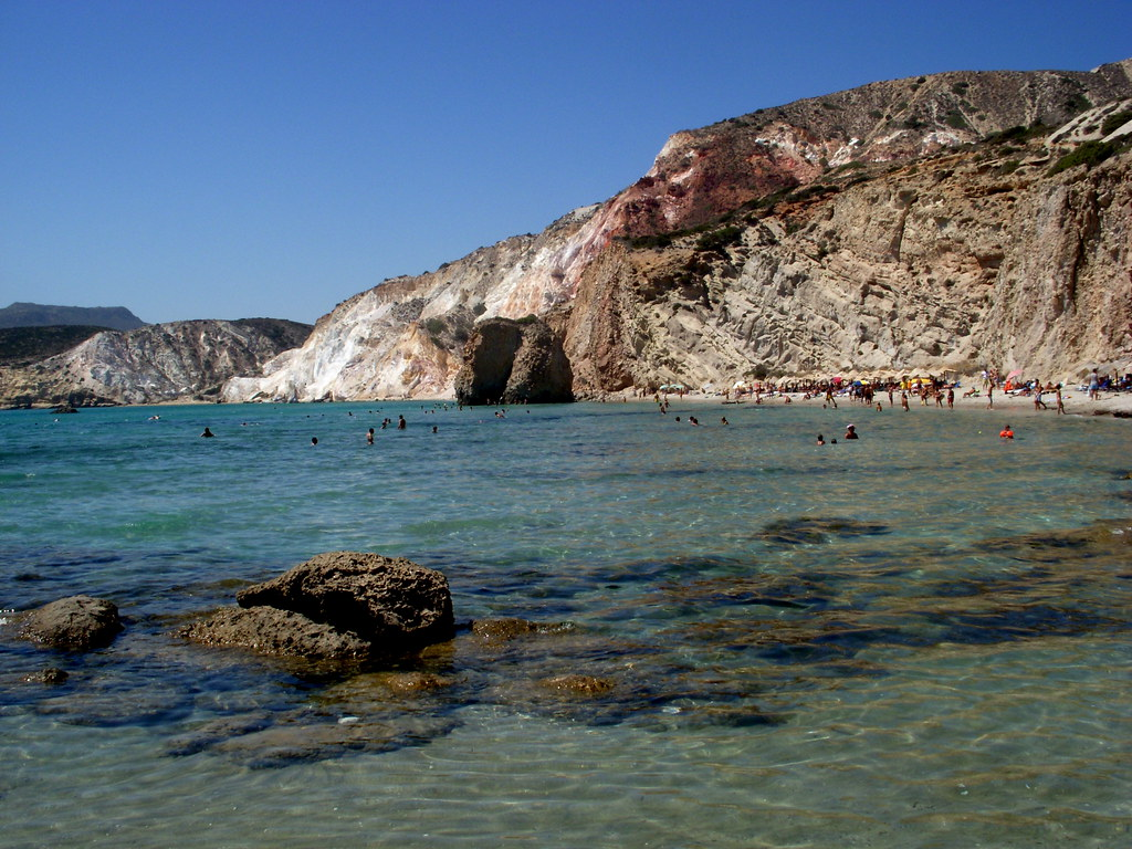 Red Rock Beach, Milos | Chris Goldberg | Flickr