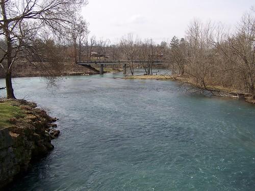 statepark bridge river ar bridges rivers arkansas stateparks springriver fultoncounty mammothsprings mammothspring