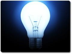 """Light Bulb No. 2   by """"Caveman Chuck"""" Coker"""