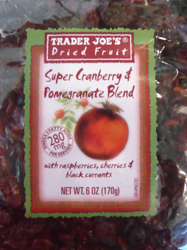 Trader Joe's Super Cranberry and Pomegranate Blend | by The Daily Digress