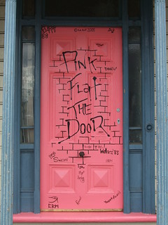 Pink Flat the Door - repainted | by steveandsarah