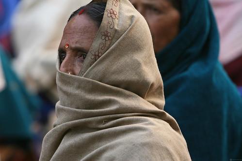 Older woman Shreeshitalacom Lower Secondary School. Kaski, Nepal | by World Bank Photo Collection