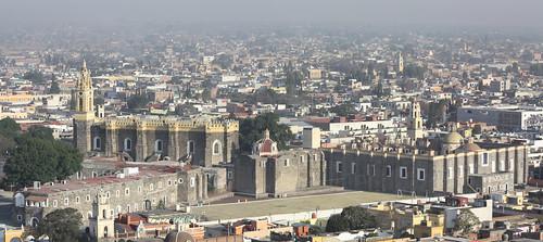 Panorámica Cholula - Puebla