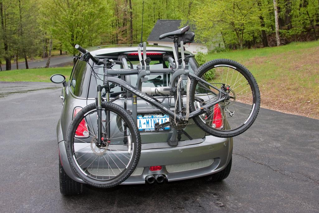 243ee54c85d Mini Cooper Bike Rack | I already had the Saris Bones 3, so … | Flickr