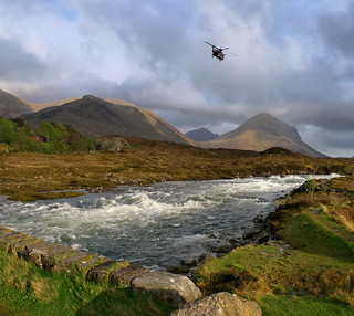 Skye Resque helicopter call out