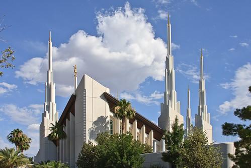 Las Vegas Nevada Temple   by Aaron Barker