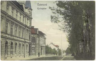 Östersund - Kyrkogatan (ca. 1907)