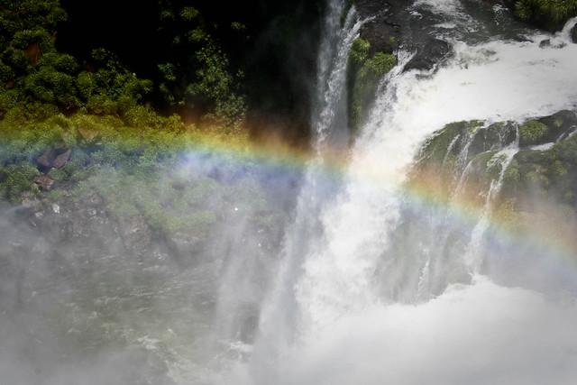Rainbow round my shoulder..