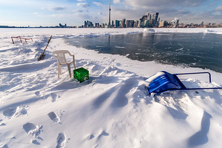 view of Toronto from ontop Lake Ontario | by Phil Marion (184 million views - THANKS)