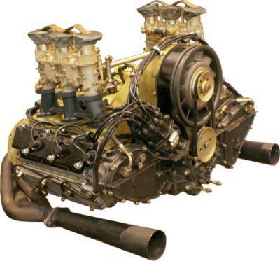 PORSCHE 911 R engine