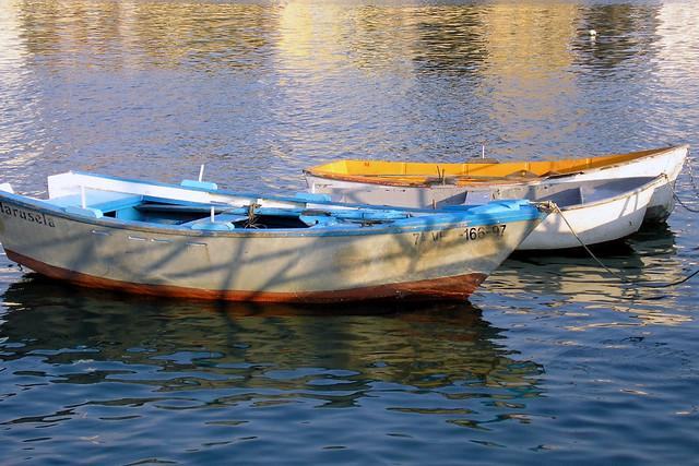 Barcas en Bouzas