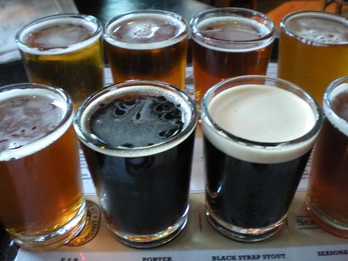 Bridgeport Brewery sample   by allisonkpark