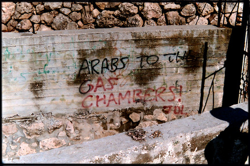 "JDL: ""Arabs to the gas chambers"" 