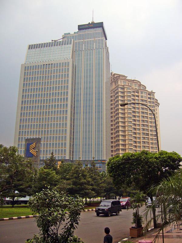 Bank Danamon and Somerset Residence in Kuningan, Jakarta Selatan