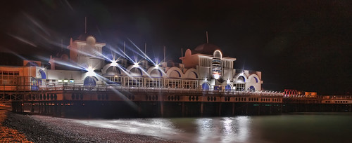 South Parade Pier at Night | by Hexagoneye Photography