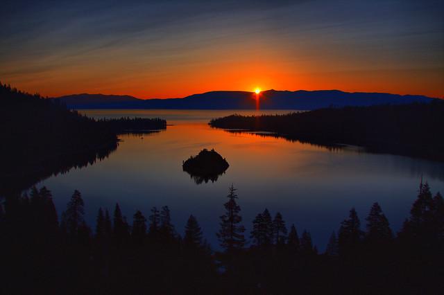Sunrise Over Emerald Bay