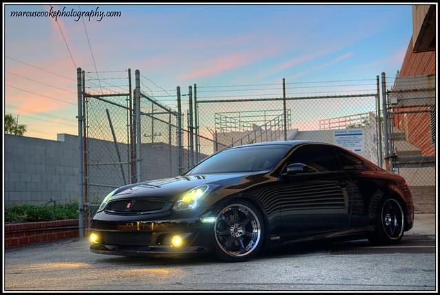 Infiniti G35 Custom >> Infiniti G35 Coupe Custom Led Headlights Took Some Quick Flickr