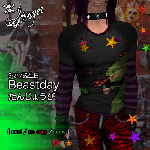 Beastday Sweetshirt | by Yohane Rockett ☆