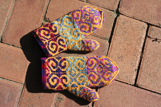 Fiddlehead Mittens | by Sharon and Peter Komidar